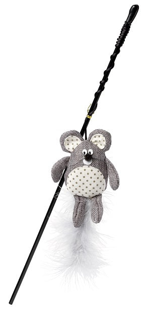 Really Mice Hessian Cat Wand
