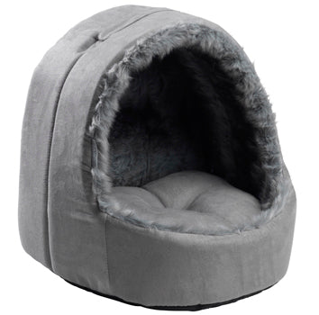 Hooded Silver Arctic Fox Bed