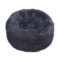 Navy faux fur Donut