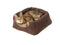 Faux Arctic Suede 2 in 1 Cat Bed Coco