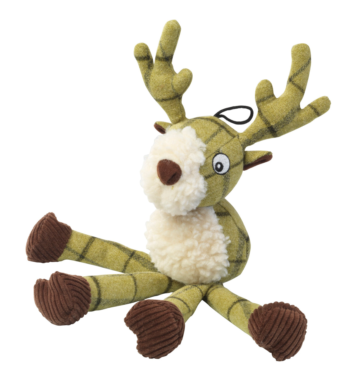 Tweed Plush Long Legs Stag