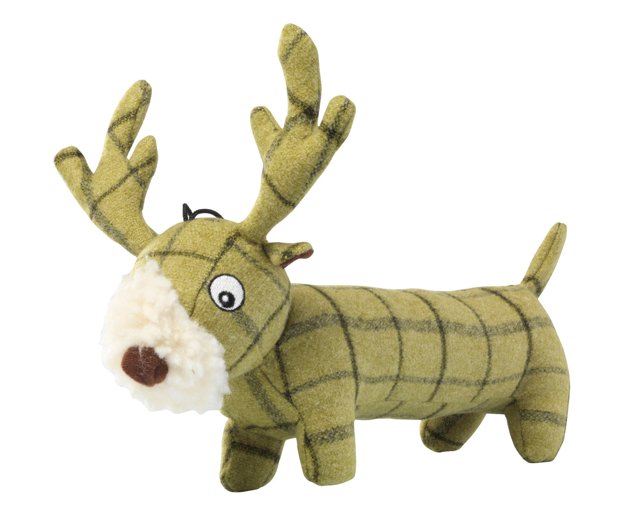 Tweed Plush Long Stag