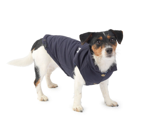 Navy Fleece Lined Gilet - XL