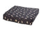 All Weather Dog Print Mattress Black