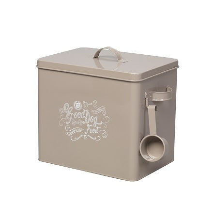 Good Dog Food Storage Grey