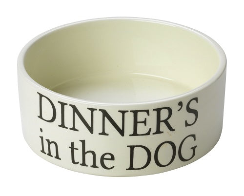 Dinner's in the Dog