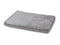 Memory Foam with Teddy Plush Top Grey