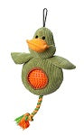 Duck Cord Toy With Spiky Ball