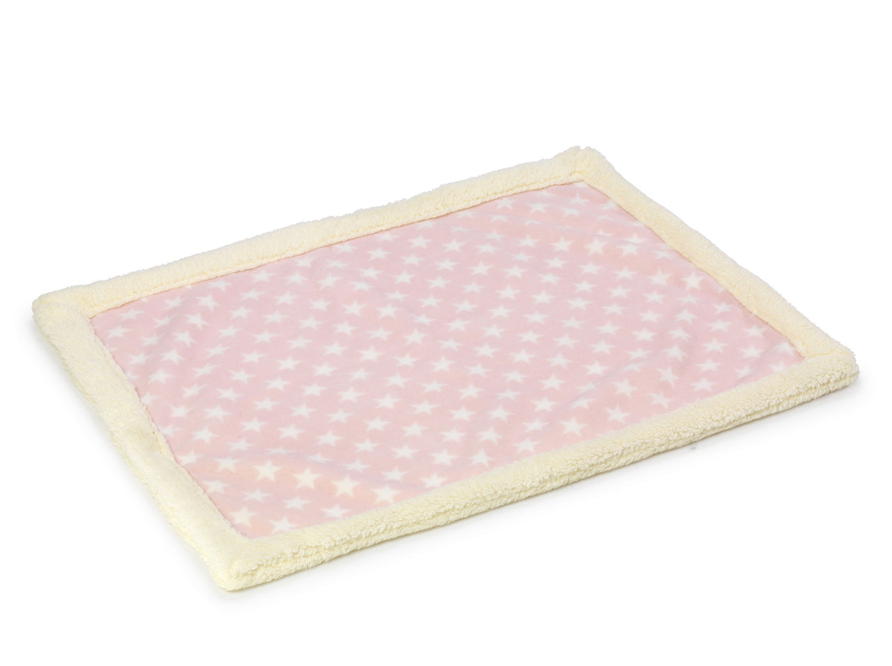 Fleece star Blanket Pink