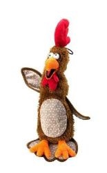 Chicken& Stuffing Dog Toy