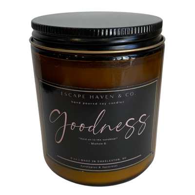 Goodness Candle (Eucalyptus & Spearmint)