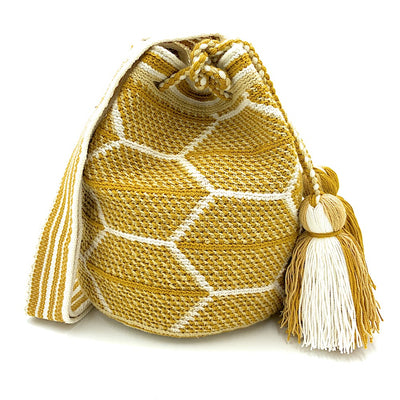 Sweet Honey Wayuu Bag