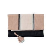 Oat Fold Over Clutch