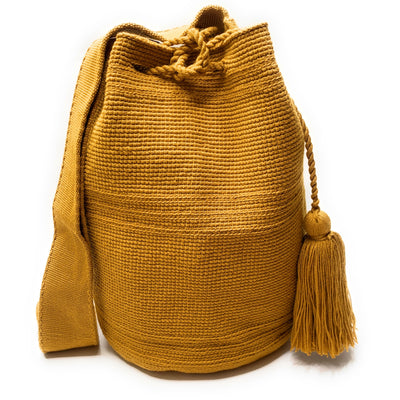 Golden Dream Large Wayuu Bag