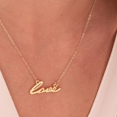 Love Dainty Necklace