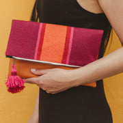 Mulberry Fold Over Clutch