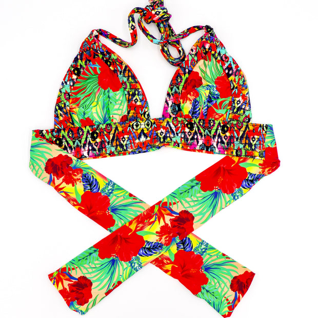 Voodoo Reversible Bikini Set - Available in Red only!