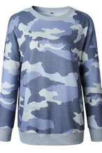 Load image into Gallery viewer, Camo Print Sweatshirt