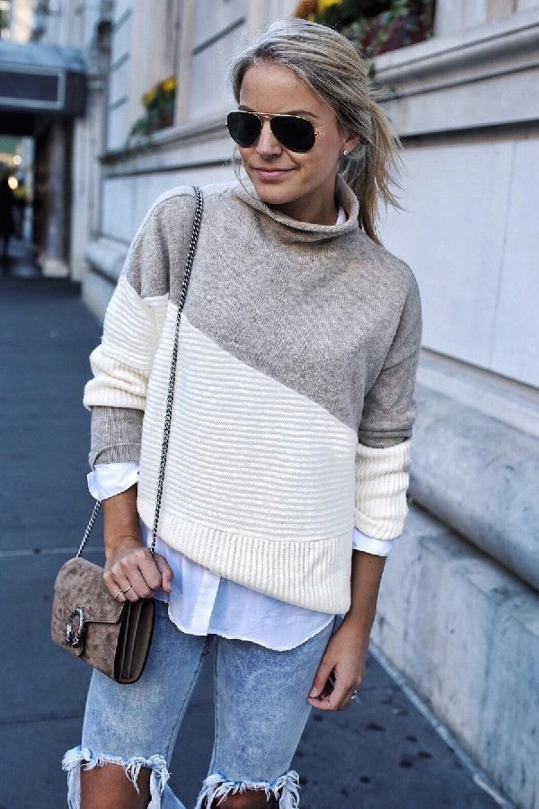 Causal Sweater