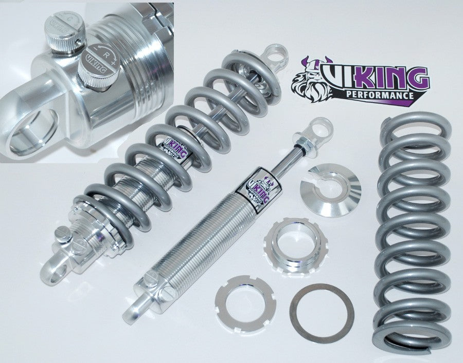 VIKING UNIVERSAL DOUBLE ADJUSTABLE COILOVERS SET (FREE SHIPPING)