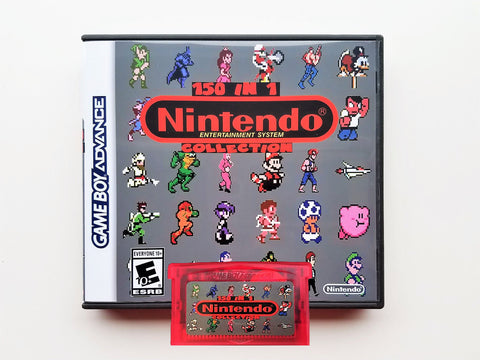 150 in 1 NES Classics Multicart - (GBA) Gray Edition