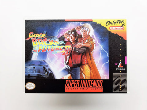 Super Back to the Future II - (SNES)