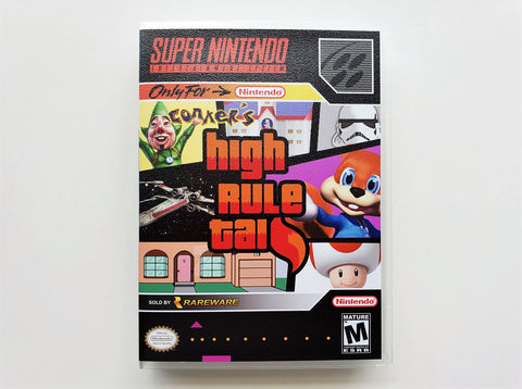 Conkers High Rule Tail - (SNES)