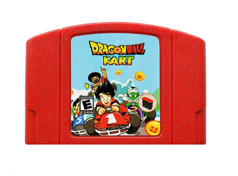 Dragon Ball Kart - Mario Kart Hack (N64)