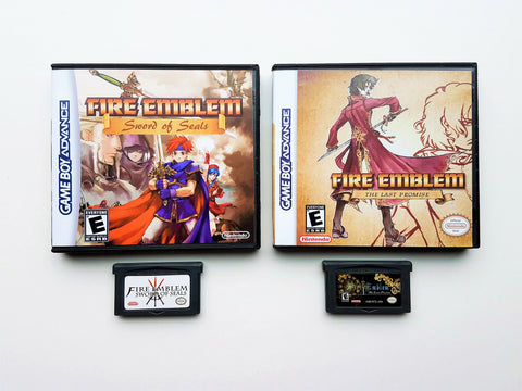 Fire Emblem Sword of Seals + Last Promise Bundle (GBA)