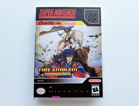 Fire Emblem - Genealogy of The Holy War - (SNES)