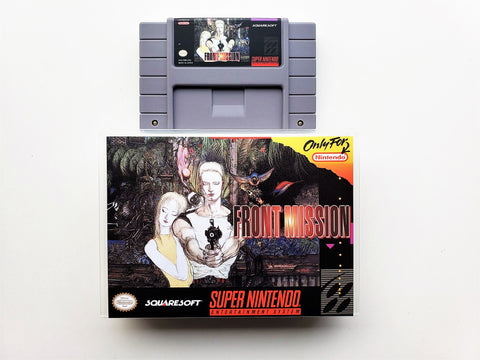 Front Mission - (SNES)
