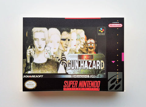 Front Mission Gun Hazard - (SNES)