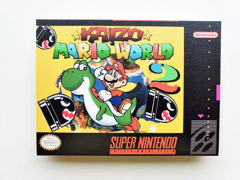 Kaizo Mario World 2 SMW Hack- (SNES)