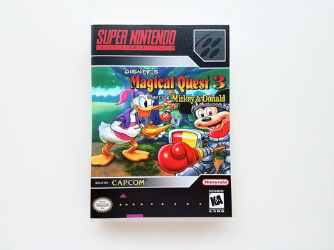 Disney's Magical Quest 3 - (SNES)