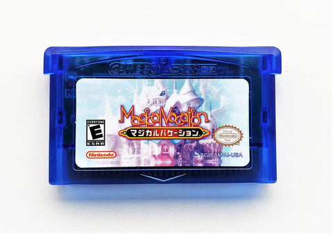 Magical Vacation Cartridge - JRPG  (GBA)