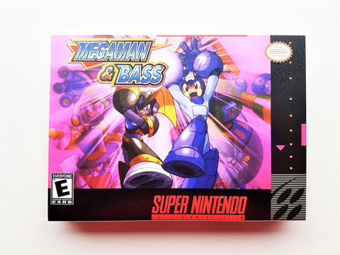 Mega Man & Bass - (SNES)