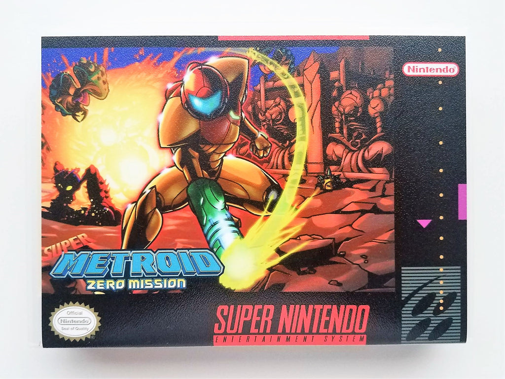 Super Metroid Zero Mission - Super Nintendo SNES English Fan Hack