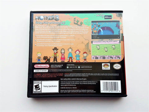 Mother 3 Game & Case (English Translated) Gameboy Advance GBA RPG