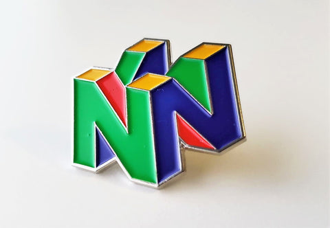 Nintendo 64 (N64 Logo) - Metal Enamel Collector Pin