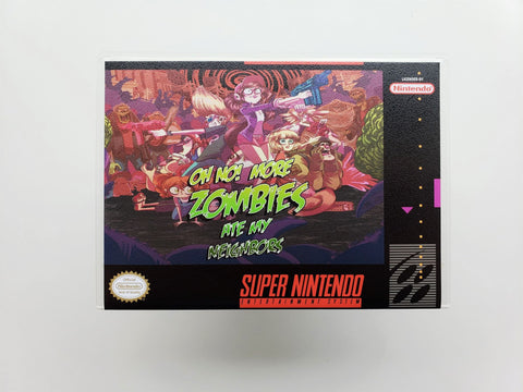 Oh No! More Zombies Ate My Neighbors - (SNES)