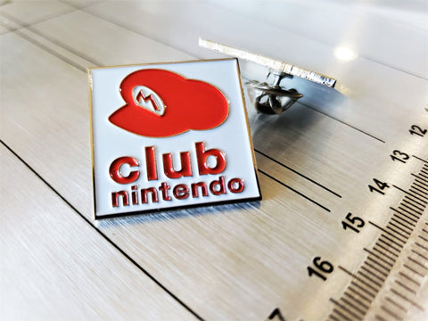 Club Nintendo - Metal Enamel Collector Pin