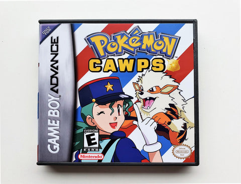 "Pokemon CAWPS aka ""COPS"" (GBA)"