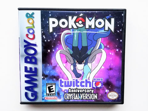 Pokemon Anniversary Crystal TPP Twitch Play (GBC)