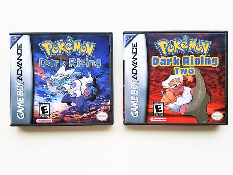 Pokemon Dark Rising 1 & 2 (GBA)