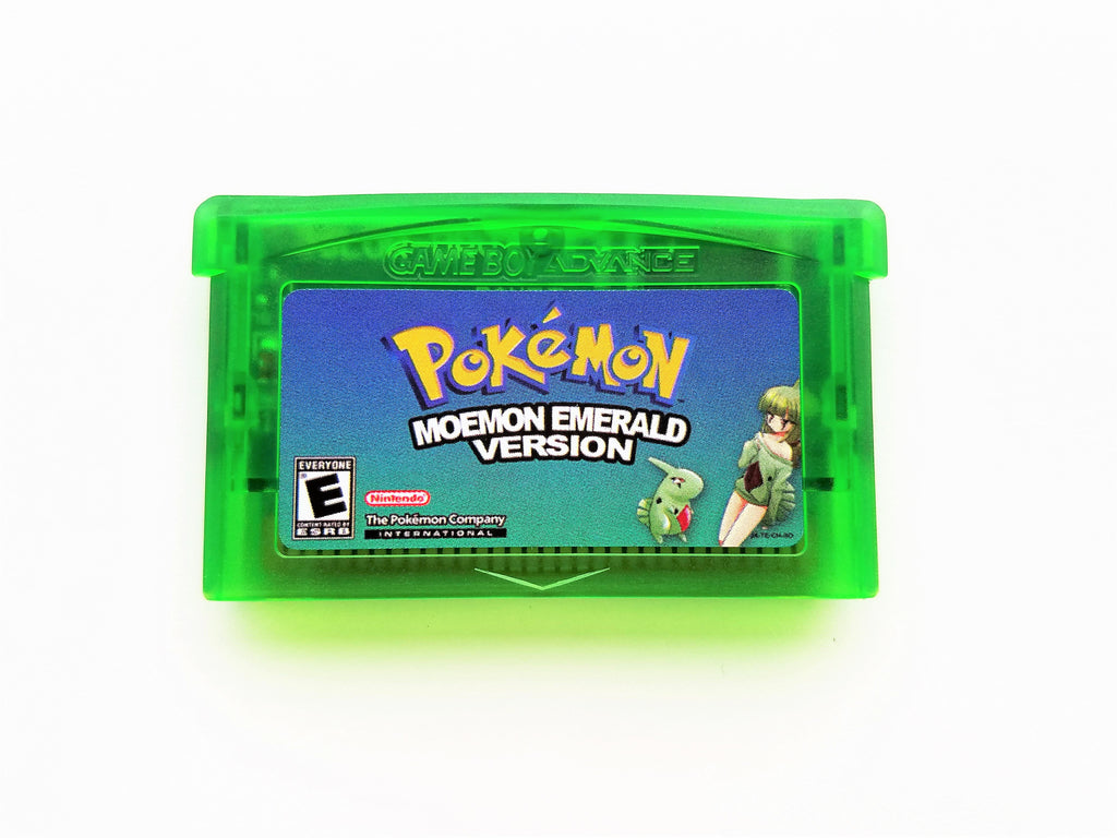 Pokemon Moemon Emerald (GBA)