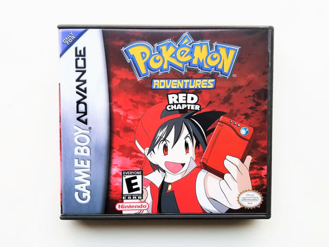 Pokemon Adventures Red Chapter (GBA)