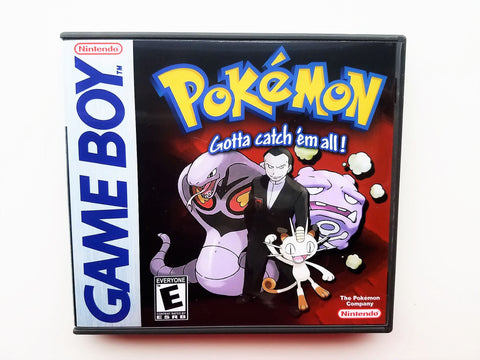 Pokemon Team Rocket (GB) Cover #2
