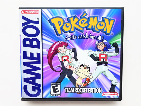 Pokemon Team Rocket (GB) Cover #1