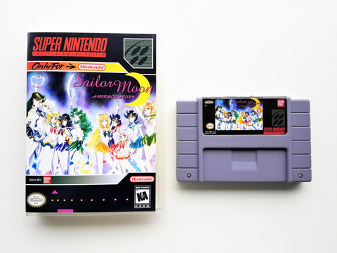Sailor Moon Another Story RPG - (SNES)