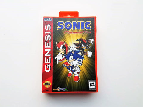 Sonic The Hedgehog Mega Mix - (Sega Genesis)